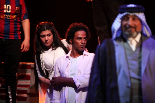 Iraqi Theatre Company's Romeo and Juliet in Baghdad © Royal Shakespeare Company