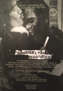"""...is merely a madness"" poster"